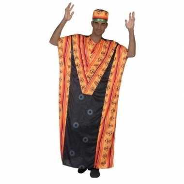 Afrikaanse kaftan carnavalskleding voor heren