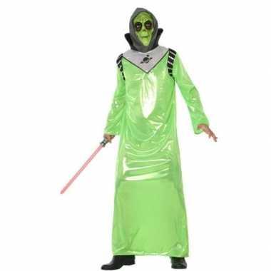 Alien carnavalskleding voor volwassenen