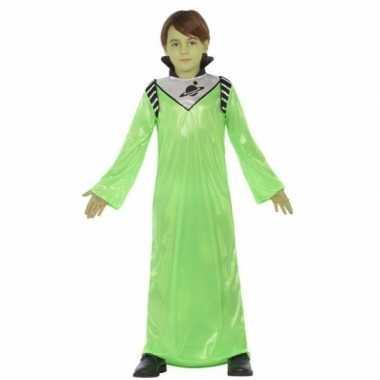 Alien zharor carnavalskleding voor jongens