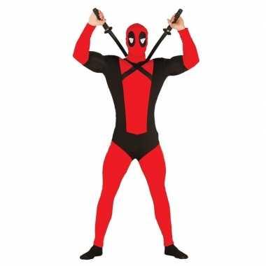 Anti superheld mutant carnavalskleding voor heren
