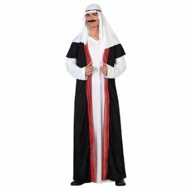 Arabische sjeik 1001 nacht carnavalskleding/gewaad voor heren