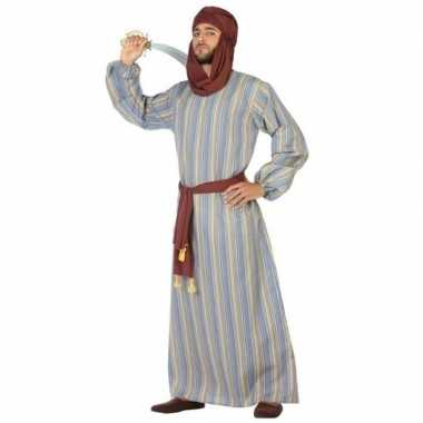 Arabische strijder ali carnavalskleding/gewaad voor heren