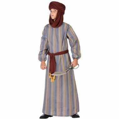 Arabische strijder ali carnavalskleding/gewaad voor jongens