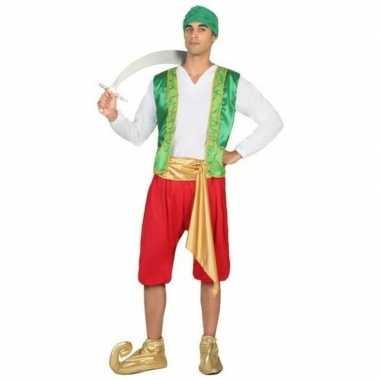 Arabische strijder amir carnavalskleding voor heren