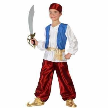 Arabische strijder badir carnavalskleding voor jongens