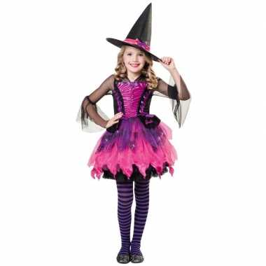 Barbie heksen carnavalskleding voor meisjes