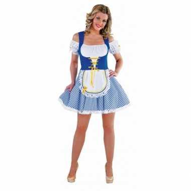 Bayern carnavalskleding blauw met wit