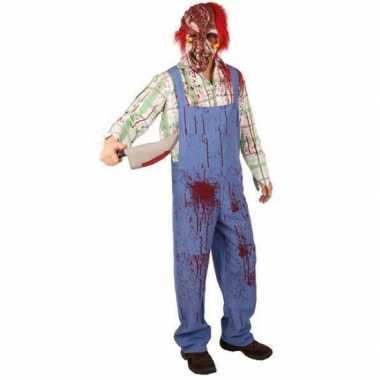 Bebloed zombie carnavalskleding