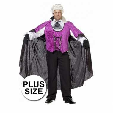 Big size vampieren carnavalskleding