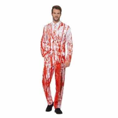 Bloederige smoking carnavalskleding voor heren