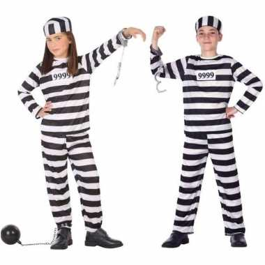 Boef/boeven pak/carnavalskleding voor kinderen