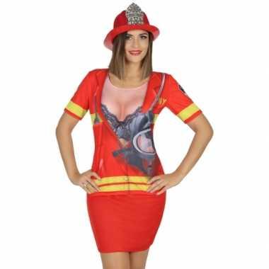 Brandweer carnavalskleding voor dames