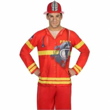 Brandweer carnavalskleding voor heren
