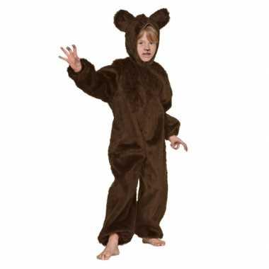 Bruin beren carnavalskleding voor kinderen