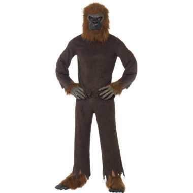 Canrvals carnavalskleding bruine aap