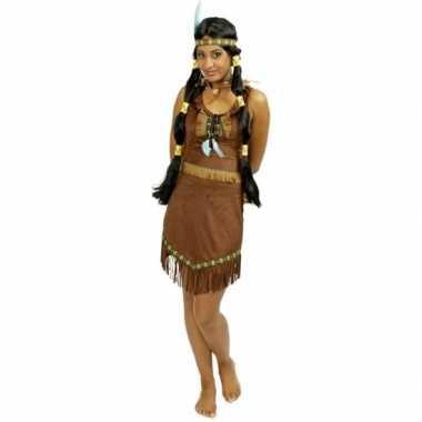 Carnaval carnavalskleding indiaan jurkje voor dames