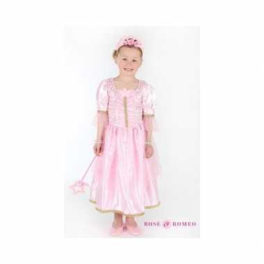 Carnaval carnavalskleding prinses lichtroze meisjes
