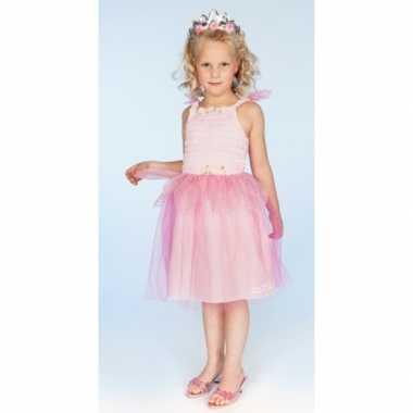 Carnaval carnavalskleding prinses roze meisjes