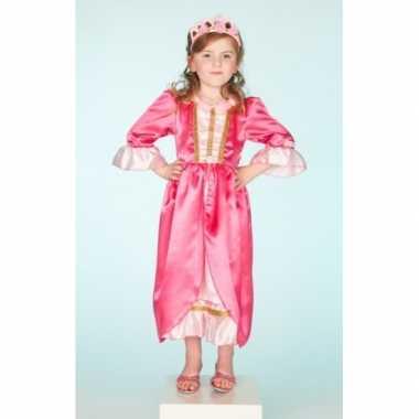 Carnaval carnavalskleding roze jurk voor meisjes