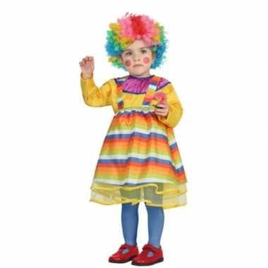 Carnaval clowns carnavalskleding peuters