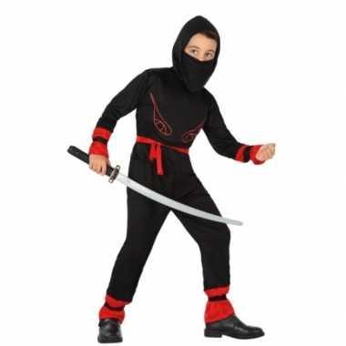 Carnaval ninja carnavalskleding jongens