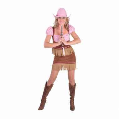 Carnavals carnavalskleding cowgirl dames