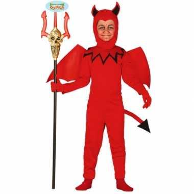Carnavals carnavalskleding voor kinderen duiveltje