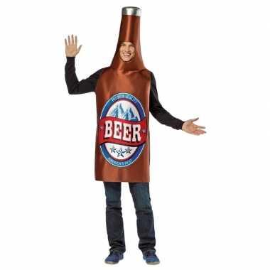 Carnavalskleding bier flesje