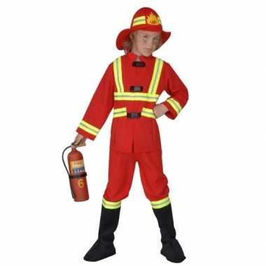 Carnavalskleding brandweer kinderen