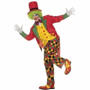 Carnavalskleding clown volwassenen
