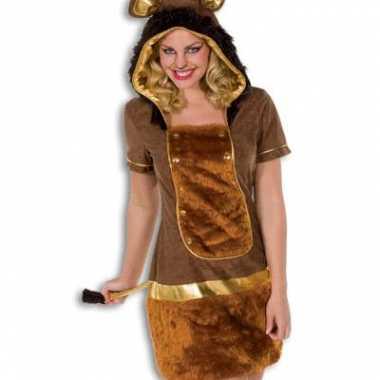 Carnavalskleding dames leeuw