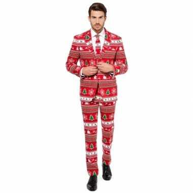 Carnavalskleding kerstmis print