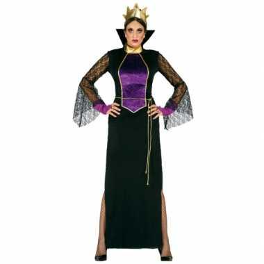 Carnavalskleding luxe heksen jurk voor dames