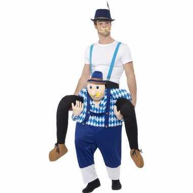 Carnavalskleding man op bayerische man