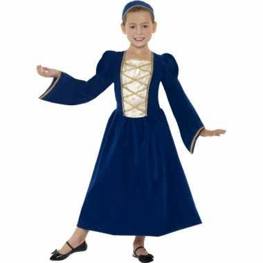 Carnavalskleding middeleeuws prinses jurkje