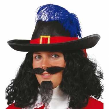 Carnavalskleding musketier accessoire volwassenen
