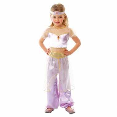 Carnavalskleding paars oosterse prinses