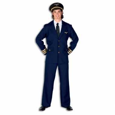 Carnavalskleding piloot airman