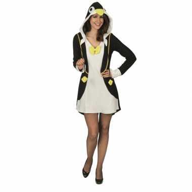 Carnavalskleding pinguin voor dames