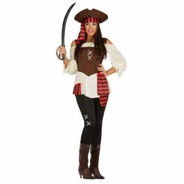 Carnavalskleding piraat dame plus size