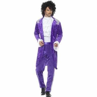 Carnavalskleding purple voor heren