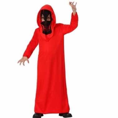 Carnavalskleding rode duivel voor jongens