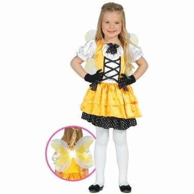 Carnavalskleding vlinder carnavalskleding geel