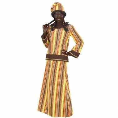 Carnavalskleding voor afrikaanse vrouw