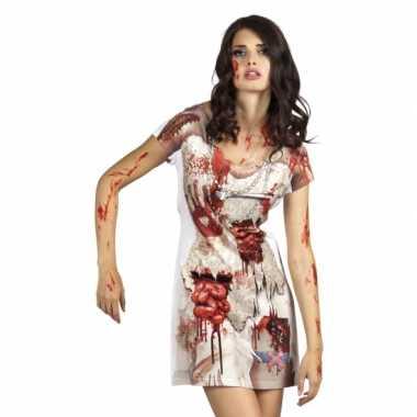 Carnavalskleding zombiebruid