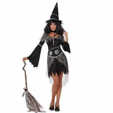 Carnavalskleding zwarte heks