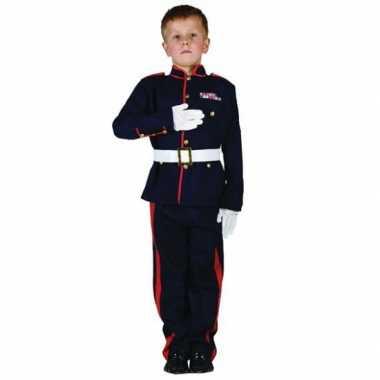 Ceremonieel soldaten carnavalskleding voor jongens
