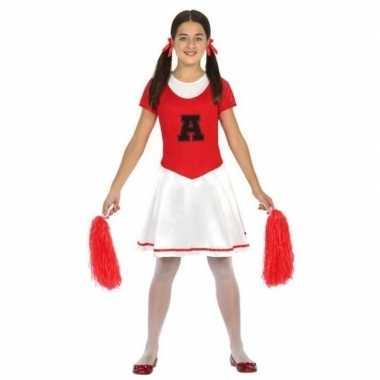 Cheerleader jurk/jurkje carnavalskleding voor meisjes