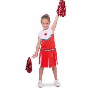 Cheerleader pakje carnavalskleding voor meisjes