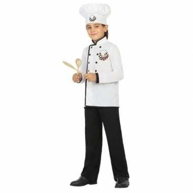 Chef kok carnavalskleding voor jongens